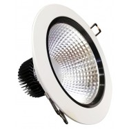 """image of Midea 5W Downlight 4"""" with Milk White Cover Day Light/Warm White"""