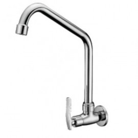 image of Mocha Wall Mounted Sink Tap ('8' Series) M8108