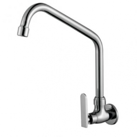 image of Mocha Wall Mounted Sink Tap ('9' Series) M9108