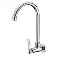 image of Mocha Wall Mounted Sink Tap ('1' Series) M1128