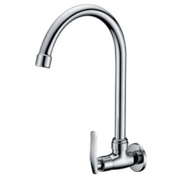 image of Mocha Wall Mounted Sink Tap ('8' series) M8128