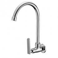 image of Mocha Wall Mounted Sink Tap ('9' Series) M9128