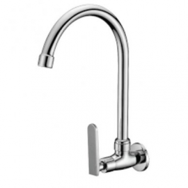 image of Mocha Wall Mounted Sink Tap ('9' Series) M9128