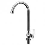 Mocha Pillar Mounted Sink Tap ('8' Series) M8129