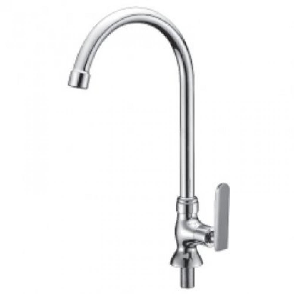 Mocha Pillar Mounted Sink Tap ('9' Series) M9129