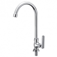 image of Mocha Pillar Mounted Sink Tap ('9' Series) M9129