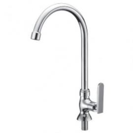 image of Mocha Pillar Mounted Sink Tap ('9' Series) M9129