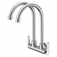 image of Mocha Wall Mounted Sink Tap (Double-'2' Series) M2122