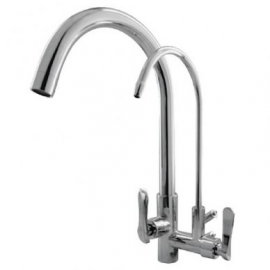 image of Mocha Wall Mounted Sink Tap With Filter Tap M2152