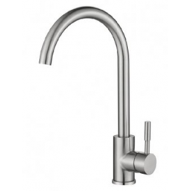 image of Mocha Pillar Mounted Sink Tap (Mixer-304 Faucet) M4130SS