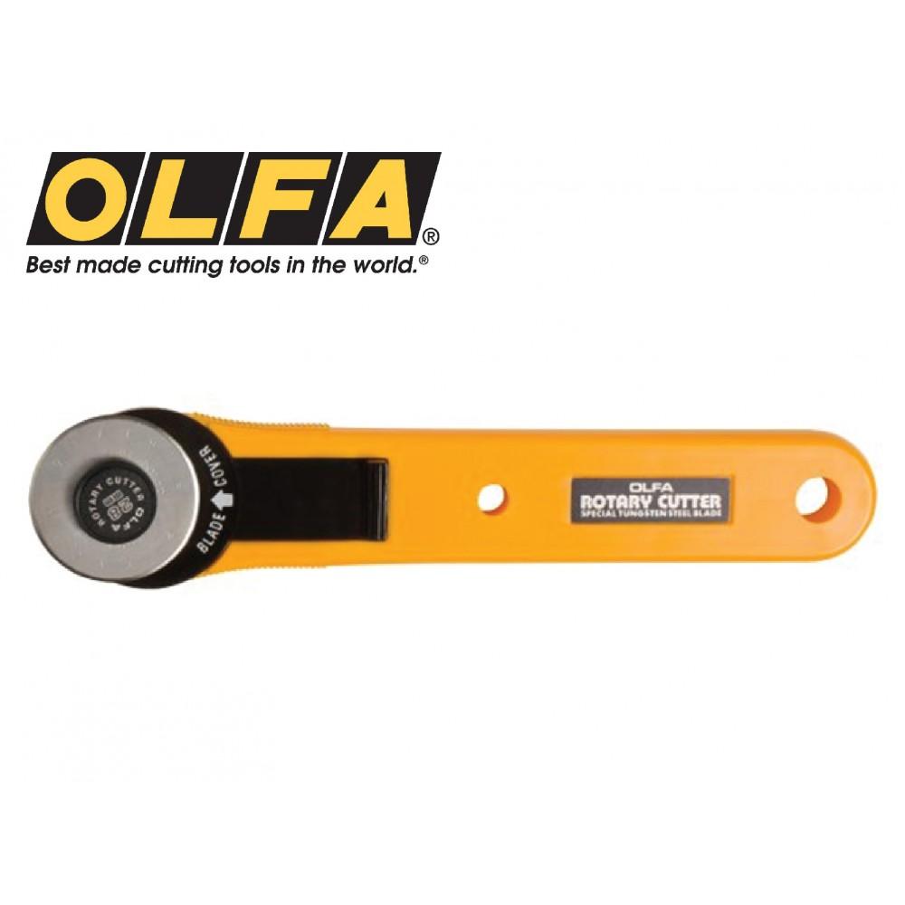 Olfa 28mm Straight Handle Rotary Cutter RTY-1/G