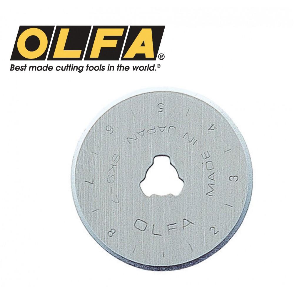 Olfa 28mm Tungsten Tool Steel Rotary Blades (2/pk) RB28-2