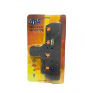 image of OPS 13AMP 4Way T- Adaptor OPS7140