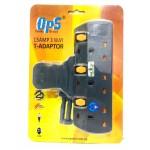 OPS 13AMP 3Way T- Adaptor OPS7130