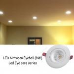 FFL LED NITROGEN EYEBALL 8W WARM WHITE (EYE CARE SERIES)