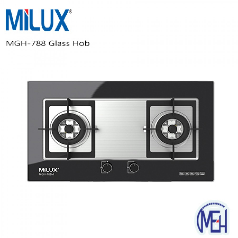 Milux MGH-788 Glass Hob