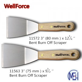 image of 11572 3'' / 11563 3''  Bent Burn Off Scraper