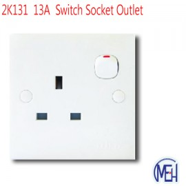 image of 2K131  13A  Switch Socket Outlet