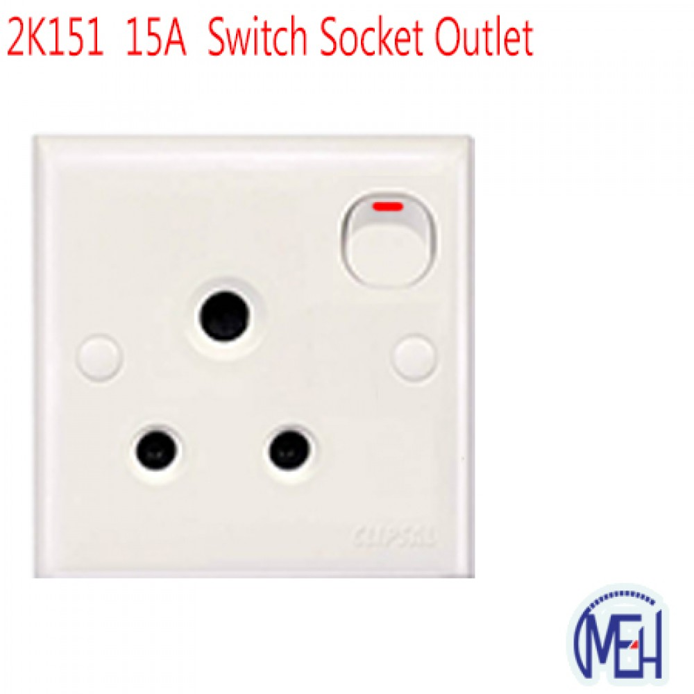 2K151  15A  Switch Socket Outlet