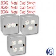 image of 2K702  Metal Clad Switch/2K703 Metal Clad Switch/2K704  Metal Clad Switch