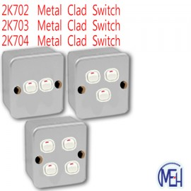 image of 2K702  Metal Clad Switch/2K703 Metal Clad Switch/2K704  Metal Clad Switch