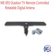 image of ME-093 Outdoor TV-Remote Controlled Rotatable Digital Antena
