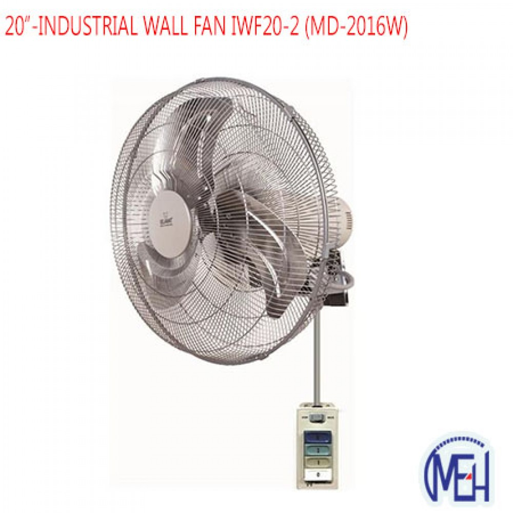 20''-INDUSTRIAL WALL FAN IWF20-2 (MD-2016W)