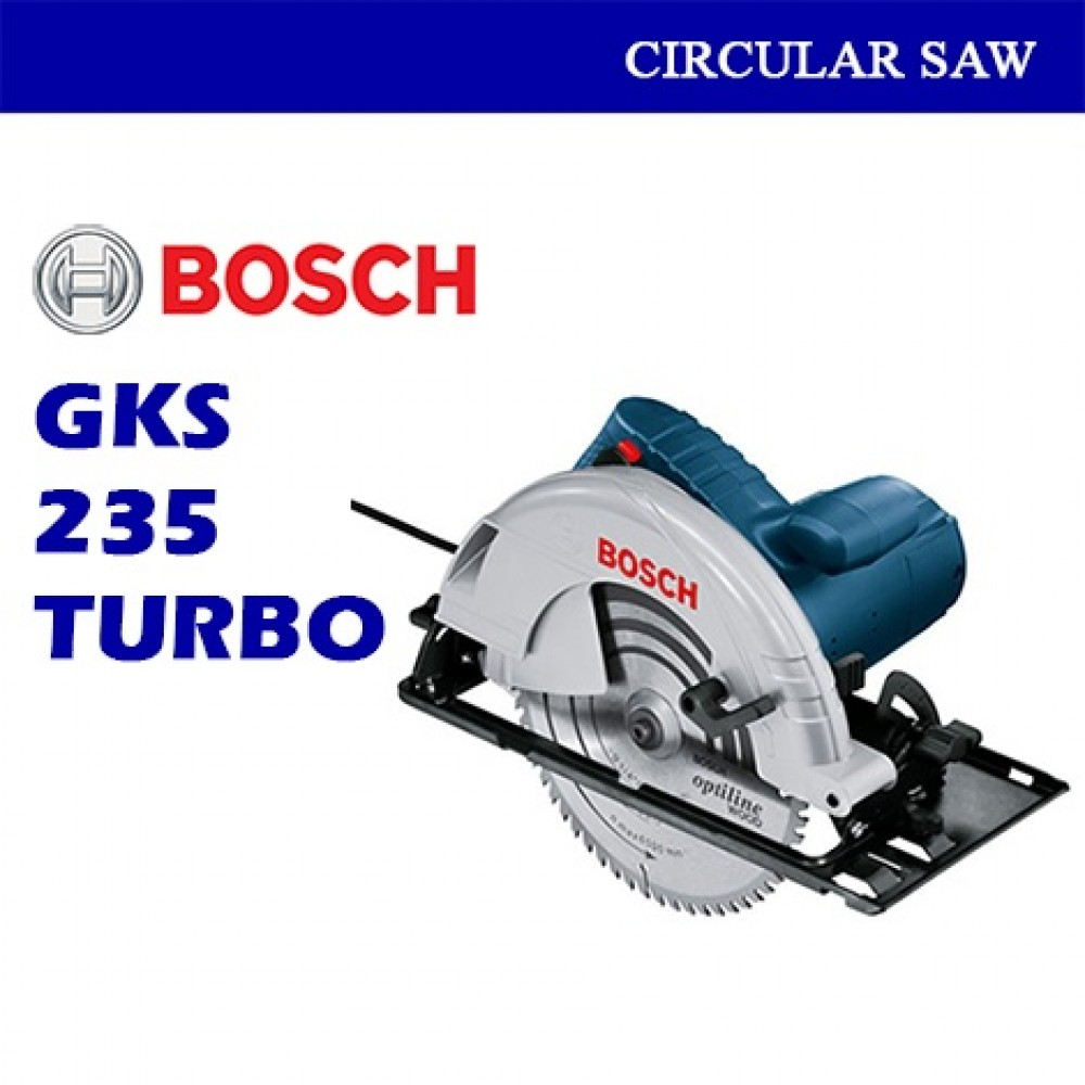 Bosch Turbo Circular Saw GKS235