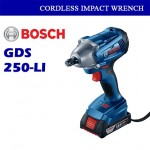 Bosch Cordless Impact Wrench GDS250-LI