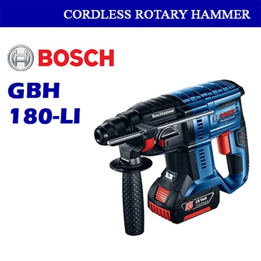 Bosch Cordless Rotary Hammer (3 Mode) GBH180-LI