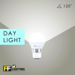 FF Lighting Color Bulb 3W B22 (3pcs)