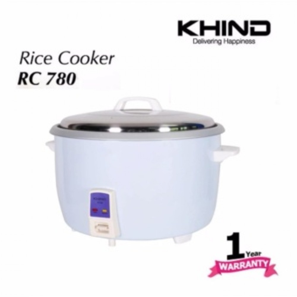Khind Rice Cooker RC780