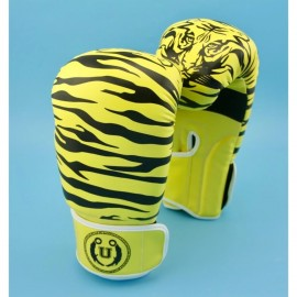 image of Unbeatable Boxing Glove SEAL Series Yellow Stripe