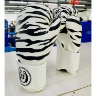 image of Unbeatable Boxing Glove SEAL Series White Stripe