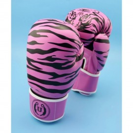 image of Unbeatable Boxing Glove SEAL Series Pink Stripe