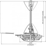KDK Regulator Type Fan (150cm/60″) K15W0-S