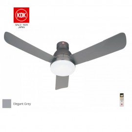 "image of KDK 48"" LED Ceiling Fan K12UX with led light"