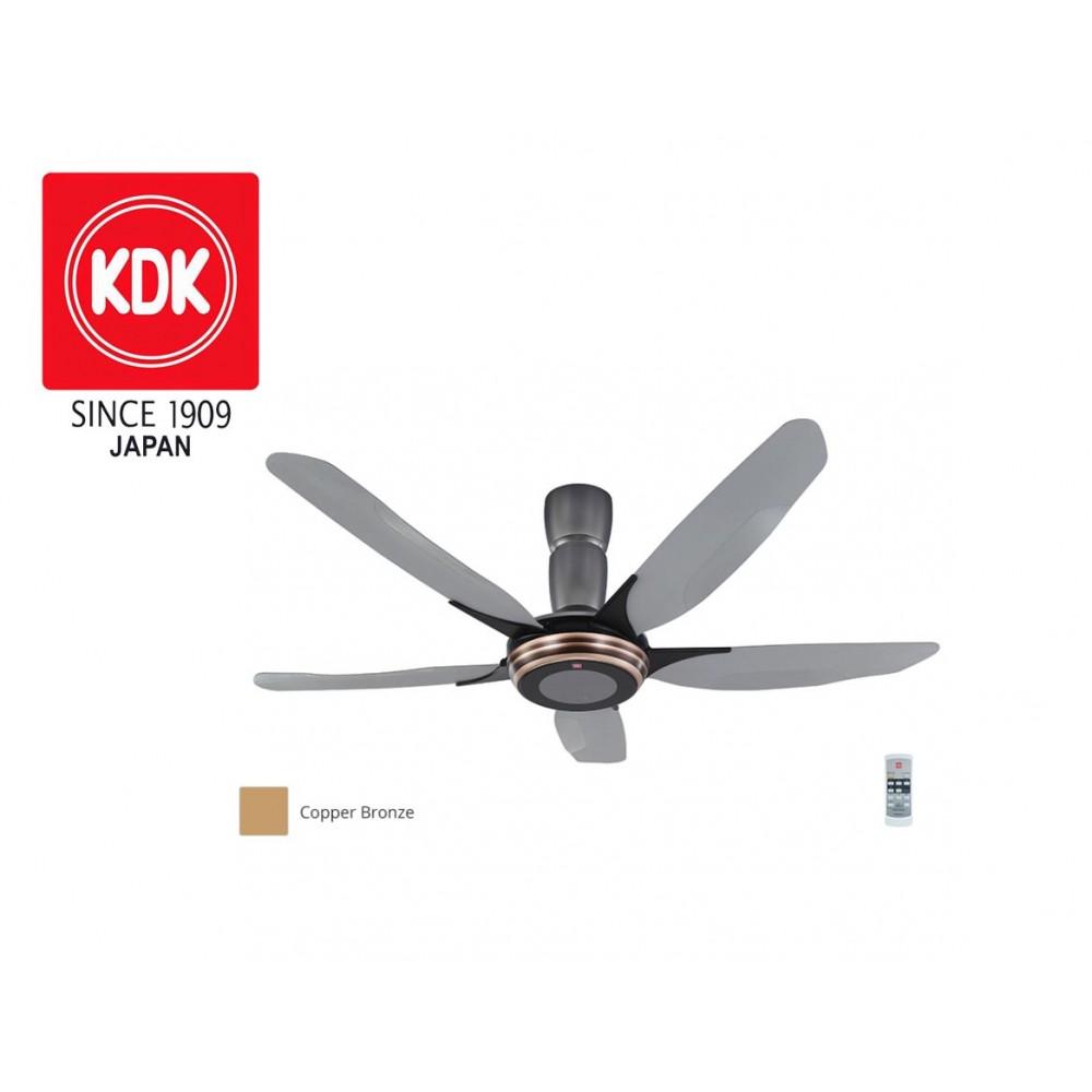 KDK V Touch Ceiling Fan (150cm/ 60″) K15Y2-CO