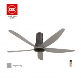 image of KDK Sensa 5 Ceiling Fan (150cm/60″) K15Z5-REY