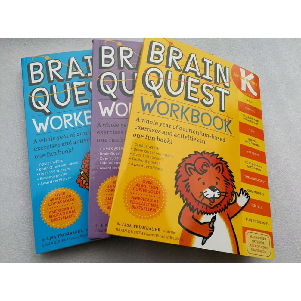 Brain Quest Workbook K,P,1