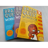 image of Brain Quest Workbook K,P,1