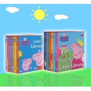image of Peppa Pig Fairy Tale & Little Library (12pcs Pocket Size Board Book)