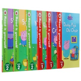 image of Peppa Pig Read It Yourself Level 1 - Level 2 (6 Books Per Set)