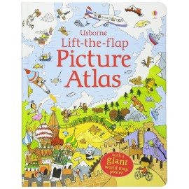 image of Usborne Lift-The-Flap Picture Atlas