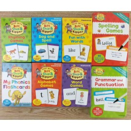 image of Oxford Flash Cards (8 boxes set)