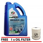 PERODUA Genuine 10W30 Engine Oil 3L + Perodua Oil Filter 1pcs