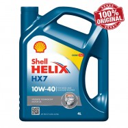 image of Shell Helix HX7 10W40 Semi Synthetic Engine Oil 4L