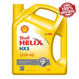image of Shell Helix HX5 15W40 SN/CF Engine Oil (4L)