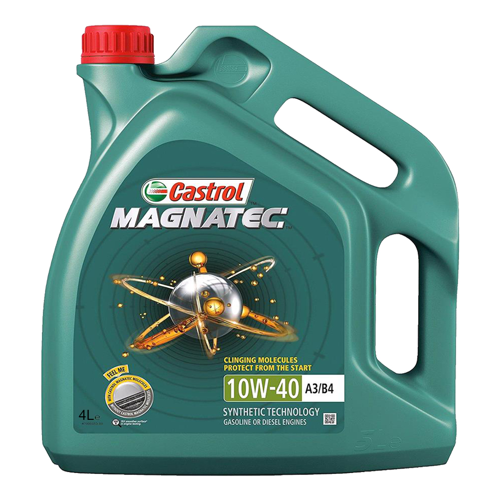 Original Castrol Magnatec 10W-40 SN/CF Semi Synthetic Engine Oil (4L)