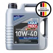 image of NEW Liqui Moly MoS2 Leichtlauf 10W40 Semi Synthetic Engine Oil 4L